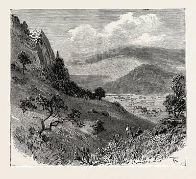Transvaal Gold Fields, South Africa, Woodbush Village Art Print
