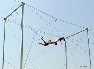Trapeze School Art Print by Brian Wallace