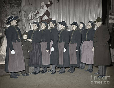 Trapp Family Singers 1945 Art Print