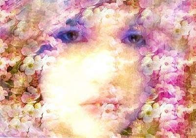 Lips Digital Art - Trapped In Beauty by Gun Legler
