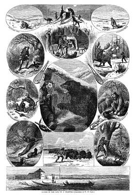 Trapper, 1868 Art Print by Granger