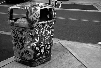 Trashcan Art Art Print
