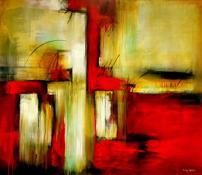 Traspasando Art Print by Thelma Zambrano