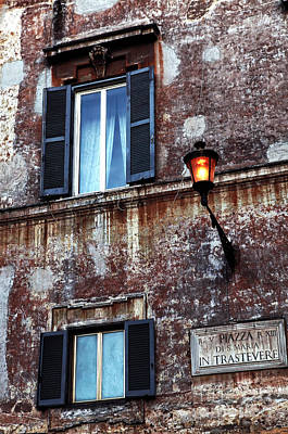 Trastevere Photograph - Trastevere by John Rizzuto