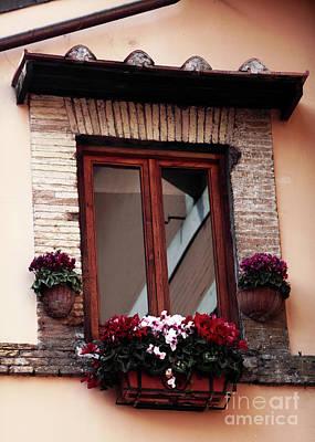 Trastevere Photograph - Trastevere Window Dressing by John Rizzuto
