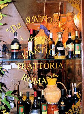 Photograph - Trattoria Roma by Caroline Stella