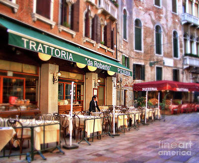 Trattoria Photograph - Trattoria by Sylvia Cook