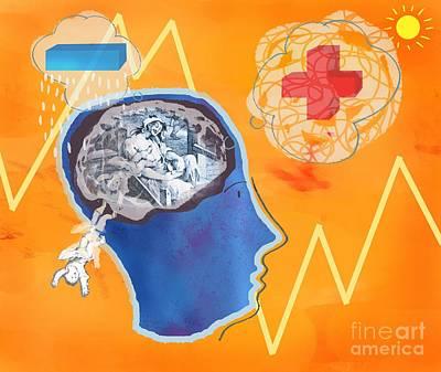 Mental Process Photograph - Trauma, Conceptual Artwork by Glyn Goodwin