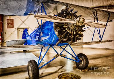 Biplane Photograph - Travel Air 4000 by Inge Johnsson