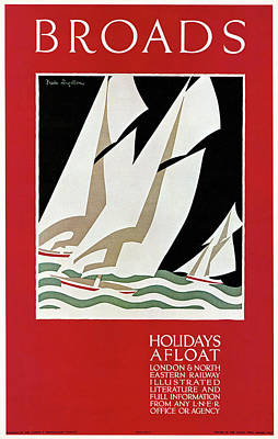 Travel Poster, 1926 Art Print by Granger