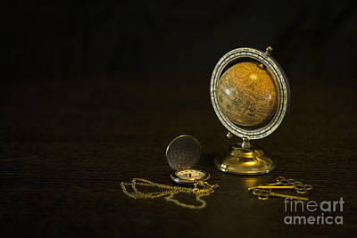 Still Life Royalty-Free and Rights-Managed Images - Travel Through Time by Evelina Kremsdorf