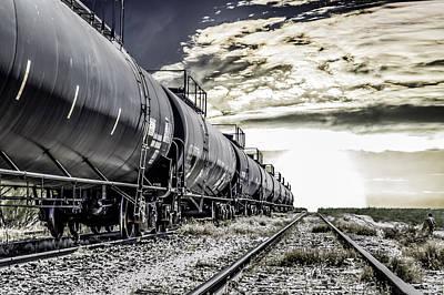 Train And Transient Art Print by Brian Yasumura Jr