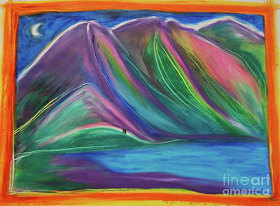 Painting - Travelers Mountains By Jrr by First Star Art