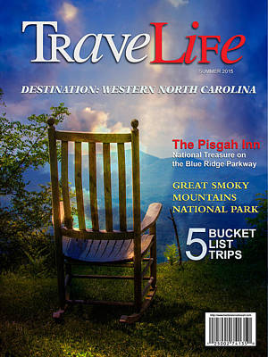Digital Art - Travelife Magazine by John Haldane