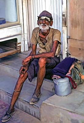 India Photograph - Travelin' Man II by Steve Harrington