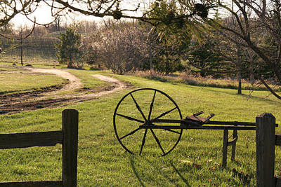 Photograph - Traveling On A Country Road by Amelia Painter