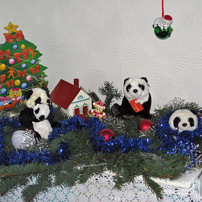 Photograph - Traveling Panda. Holidays In Pandaland by Ausra Huntington nee Paulauskaite