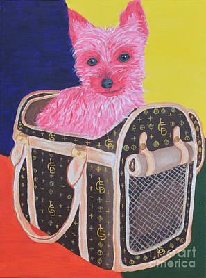 Traveling Pink Pampered Pooch Original