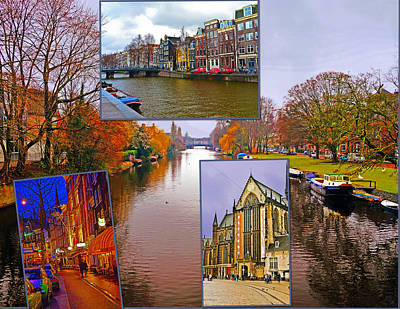Photograph - Traveling Through Amsterdam by Elvis Vaughn