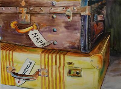 Traveling Through Original by Wyn Ericson