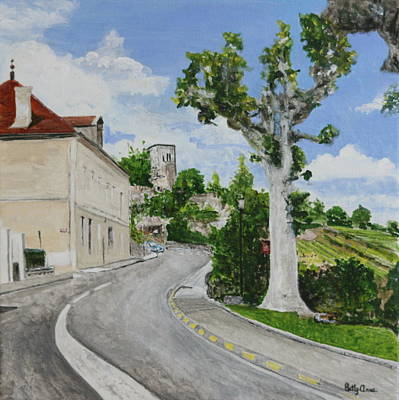 Painting - Travelling In France by Betty-Anne McDonald