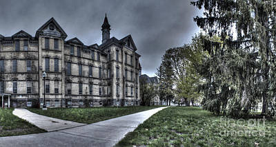 Mental Photograph - Traverse City State Mental Hospital by Twenty Two North Photography