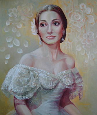 Verdi Painting - Traviata by Elena Oleniuc