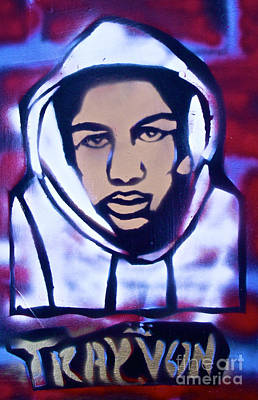 Free Speech Painting - Trayvon's America by Tony B Conscious