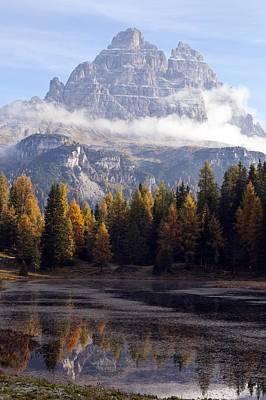 Tre Cime Di Lavaredo Peaks, Dolomites Print by Science Photo Library