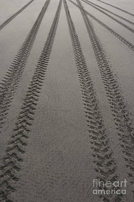 Photograph - Tread Marks by Ron Sanford