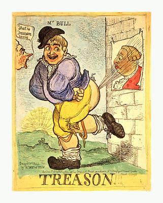 Newton Drawing - Treason, Newton, Richard, 1777 1798, Artist by English School