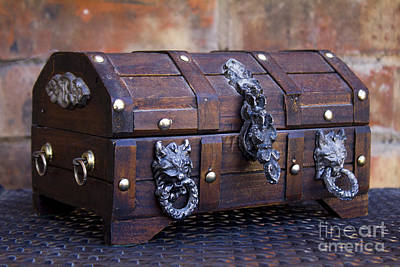 Photograph - Treasure Chest by Alycia Christine