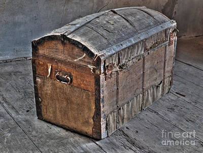 Treasure Box Photograph - Treasure Chest by Sinisa Botas