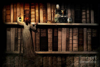 Library Digital Art - Treasure Hunt by Aimee Stewart