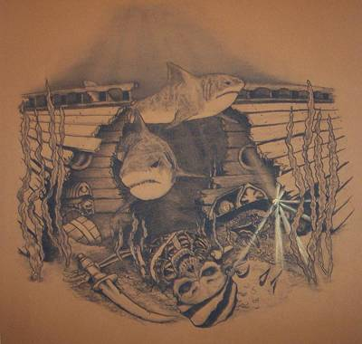 treasure chest drawings fine art america
