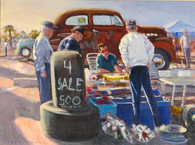 Painting - Treasure Hunters by Bill Tomsa
