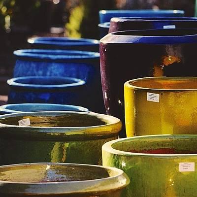 Ceramics Photograph - Treasure In Earthen Vessels by Penni D'Aulerio