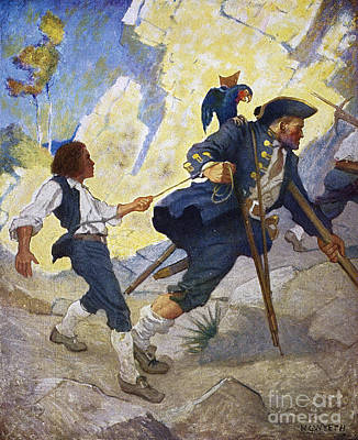 Treasure Island, 1911 Art Print by Granger