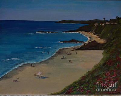 Painting - Treasure Island Laguna Beach by Valarie Pacheco