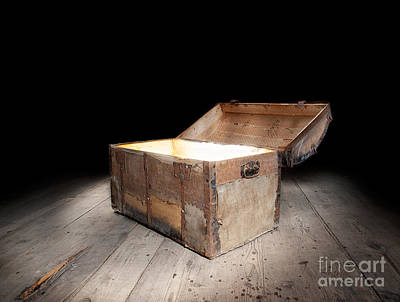 Treasure Box Photograph - Treasure Light by Sinisa Botas