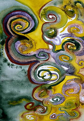Centering Painting - Treasure Of Erebor by Beverley Harper Tinsley