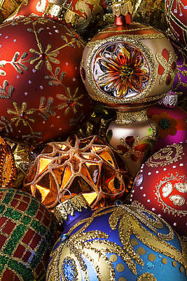 Embellishments Photograph - Treasured Ornaments by Garry Gay