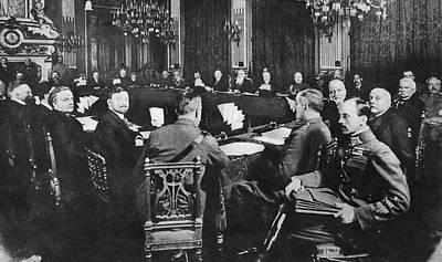 Ally Photograph - Treaty Of Brest-litovsk by Granger