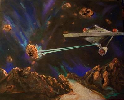 Trek Adventure Art Print