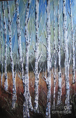 The Trees Mixed Media - Tree 11 by Charlotte Hastings