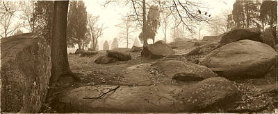 Devils Den Photograph - Tree And Steps At Devils Den - Gettysburg by Jan W Faul