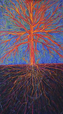 Painting - Tree As It Is by Lola Lonli