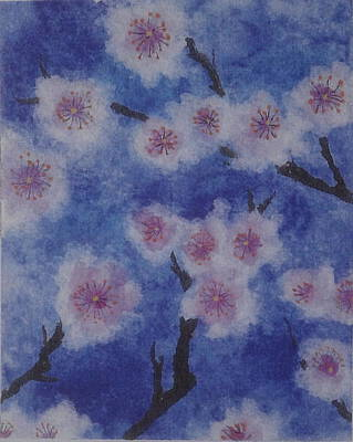 Tree Blossom Art Print by Catherine Arcolio