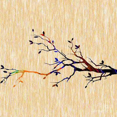 Tree Branch Art Print by Marvin Blaine