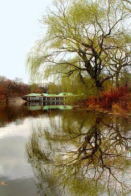 Lakes Digital Art - Tree By The River  by Mark Ashkenazi